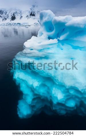 Ninety percent of icebergs are underwater