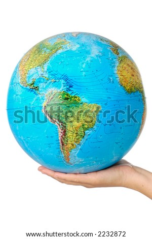 photo of a representation of the planet earth upon hands #2232872