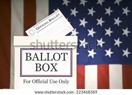 Ballot Box/ Horizontal #223468369