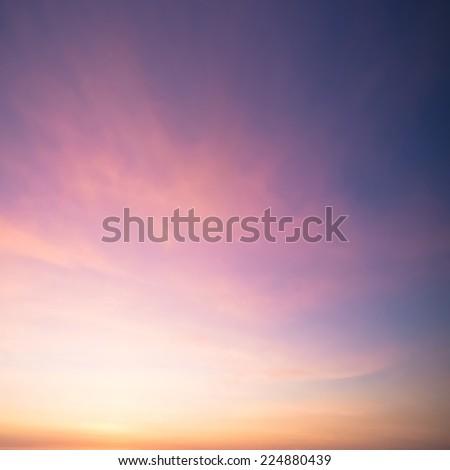Dramatic sunset and sunrise sky. #224880439