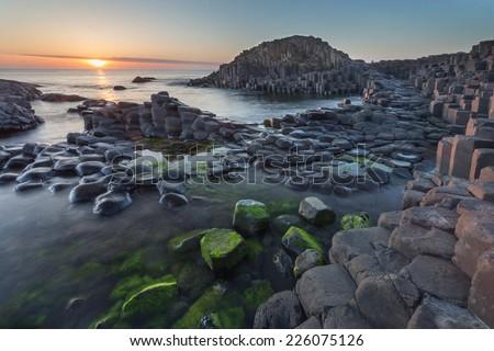 Giant's Causeway, Antrim, Northern Ireland Royalty-Free Stock Photo #226075126