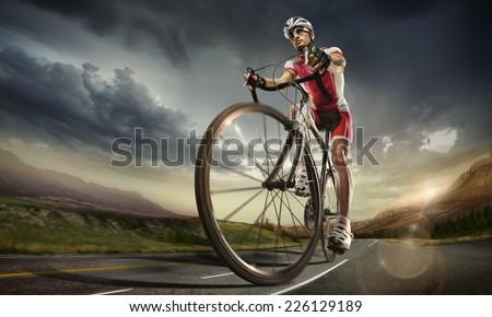 Sport. Road cyclist. #226129189