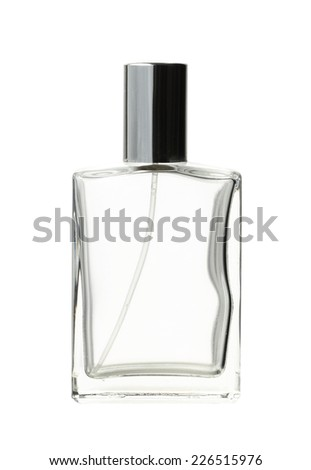 Perfume bottle (with clipping path) isolated on white background #226515976