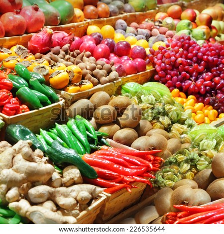 Fruits and vegetables #226535644