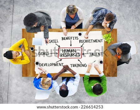 Group of People and Human Resources Concept #226614253
