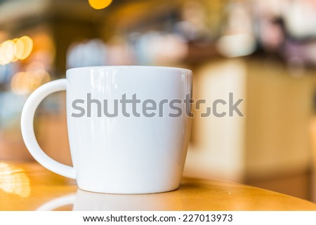 Coffee cup in coffee shop #227013973