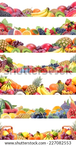 Fruits collection #227082553