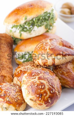 An Assortment Of Fresh Pastery #227193085