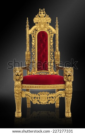 o throne of glory / in all your gloriousness / includes clipping path #227277331