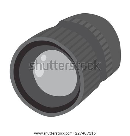 Camera Lens Vector #227409115