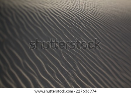 texture of sand for background. pattern of sand #227636974