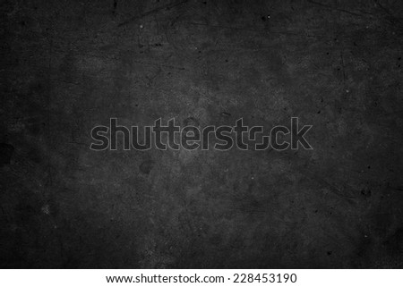 Dark grunge textured wall closeup  #228453190