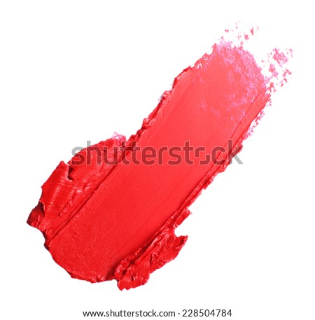 Beautiful lipstick isolated on white #228504784