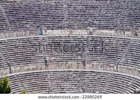 Roman amphitheater in Amman, Al-Qasr site - Capital of Jordan #22880269
