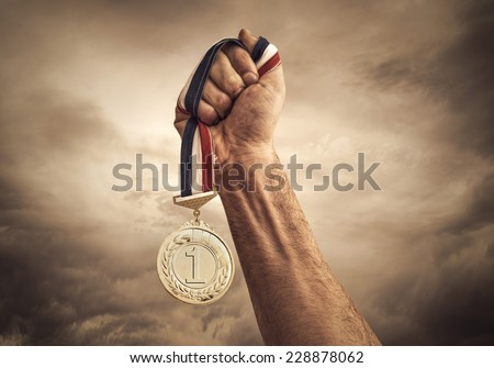 Award of Victory Royalty-Free Stock Photo #228878062