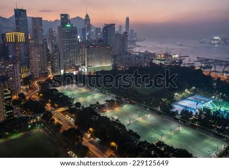 Causeway Bay in Hong Kong #229125649