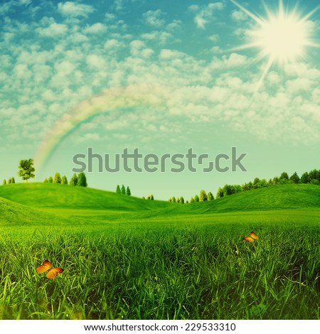 Beauty environmental backgrounds for your design #229533310