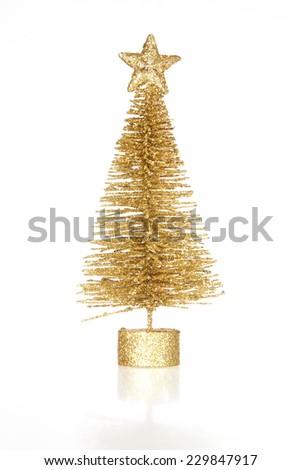 decoration christmas tree isolated on white background #229847917