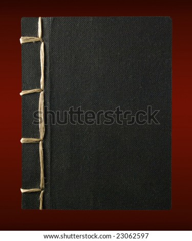 traditional hand bound japanese book #23062597