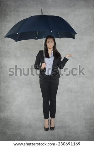 Businesswoamn is an insurance agent #230691169