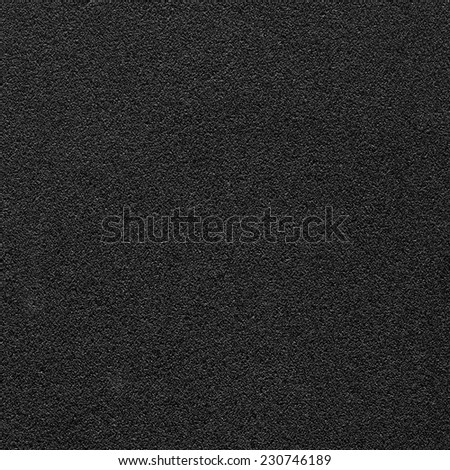black synthetic material texture. Useful  for background in design-works #230746189