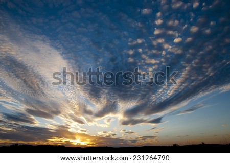 Cirrostratus Sunset #231264790