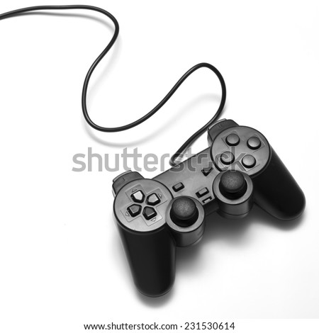 video game controller on a white background #231530614