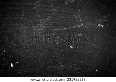 Black Dusty Scratchy Texture #231955369