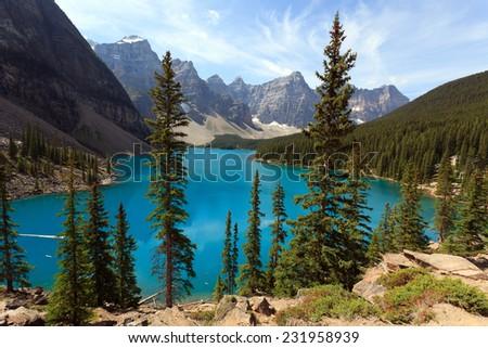 Moraine Lake in Canada #231958939