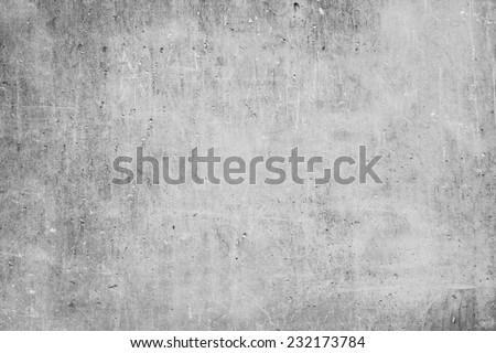old grungy texture, grey concrete wall  Royalty-Free Stock Photo #232173784
