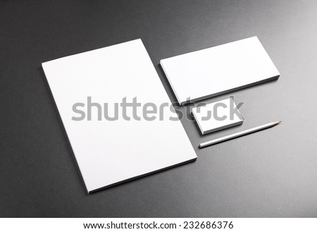 Photo. Template for branding identity. For graphic designers presentations and portfolios. Royalty-Free Stock Photo #232686376