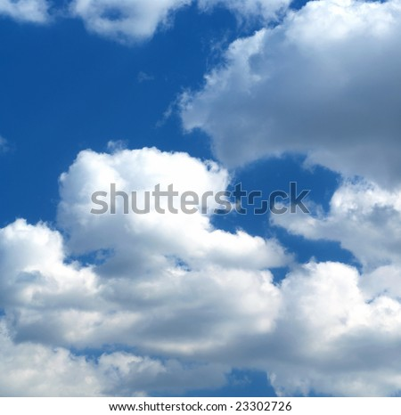 Photo of big clouds in the day time sky #23302726