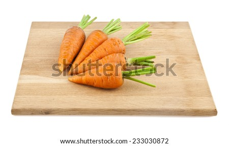 carrot on a white background #233030872