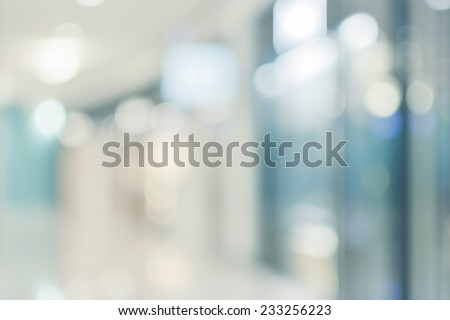 Abstract background of shopping mall, shallow depth of focus. Royalty-Free Stock Photo #233256223