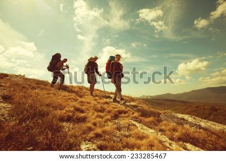 hiking group #233285467