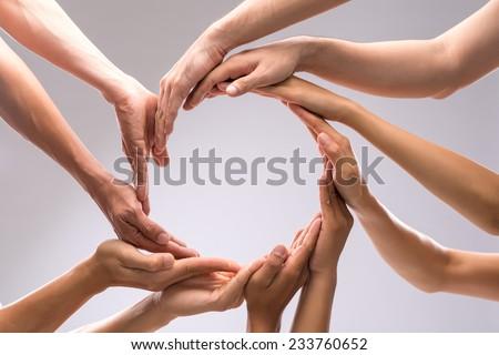 Making a circle Royalty-Free Stock Photo #233760652