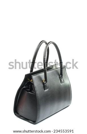 female black bag on a white background #234553591