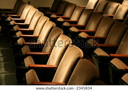 low profile of plush brown chairs #2345834