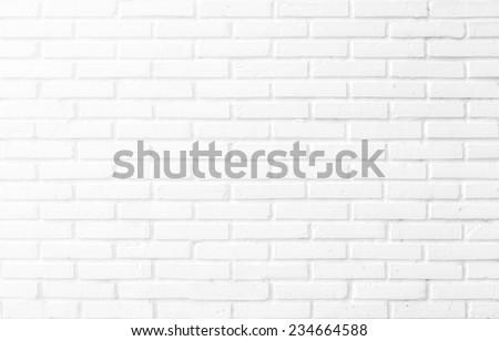 Kitchen wallpaper concept: Close up modern white brick tiles wall texture background #234664588