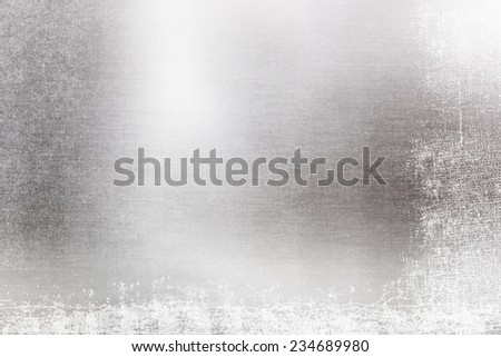 Abstract silver defocused grunge background with bokeh lights