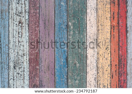 Vintage Wood Wall For text and background