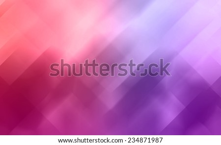 geometric shape background abstract design, random pattern of triangle hexagonal and trapezoid angle mosaic or stained glass pieces effect, pink red and purple color tone, modern background