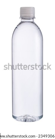 Small plastic water bottle #234930634