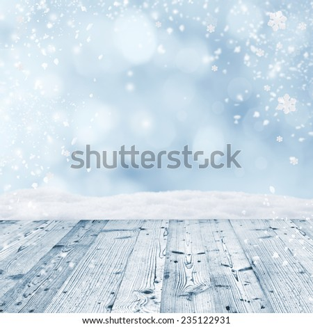 Abstract Christmas background, close-up. #235122931