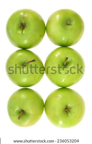 A close up shot of green apples #236053204