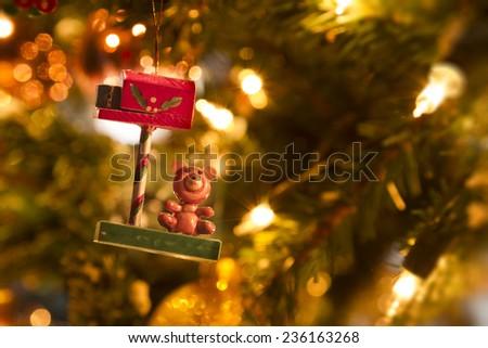 christmas tree decoration toy #236163268