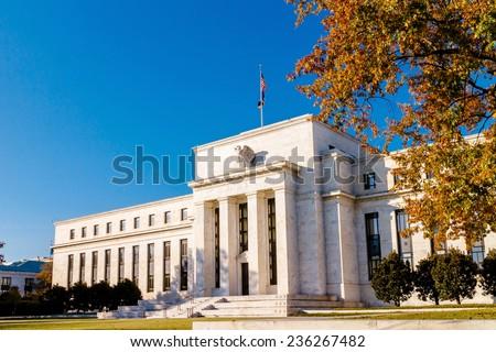 Federal Reserve Building, Washington DC, USA. Royalty-Free Stock Photo #236267482