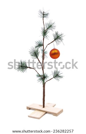 Small Sparse Christmas Tree