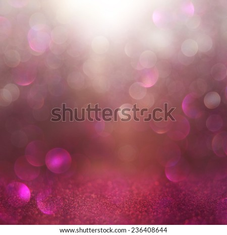 blurred abstract brown and purple bokeh lights and textures. image is defocused