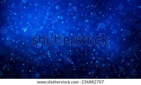 Abstract winter background with snowflakes pattern toned blue. #236882707